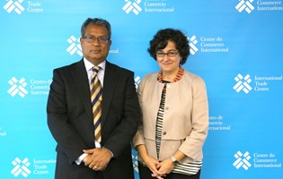 The Secretary-General of MCCI meets with ITC Executive Director in Geneva