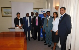 The MCCI receives the visit of representatives of African Union Foundation