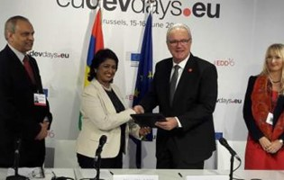 EU-Mauritius: Signature of the 11th EDF National Indicative Programme