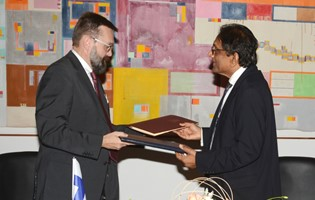 A Bilateral Air Services Agreement signed between Mauritius and Finland