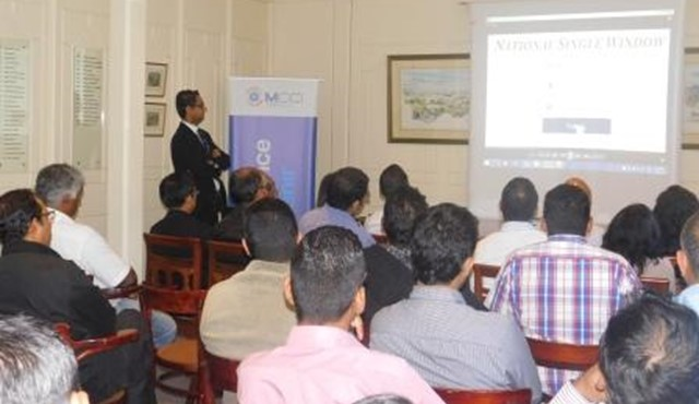 Awareness Session on Mauritius TradeLink (Single Window)