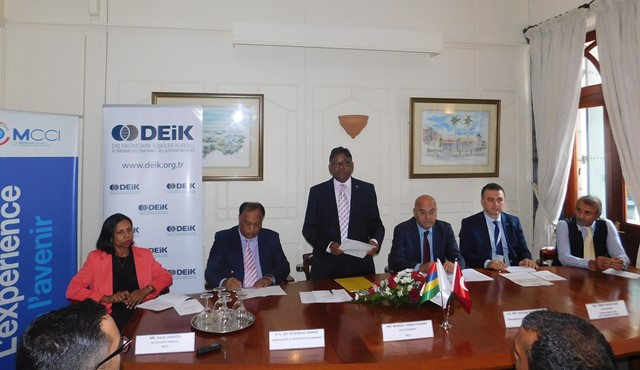 Thriving business collaboration between Mauritius and Turkey