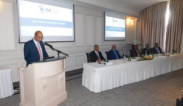 'State of the Economy Address' by Mr. Azim Currimjee, President of the MCCI during the 168th MCCI AGM