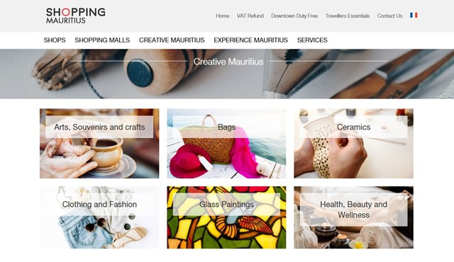 Launching of 'Creative Mauritius'  on www.taxfreeshopping.mu