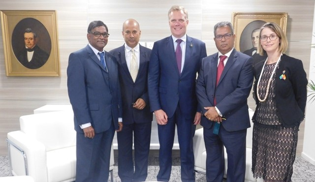 MCCI welcomes Hon. Tony Smith MP, Speaker of the House of Representatives, Parliament of the Commonwealth of Australia