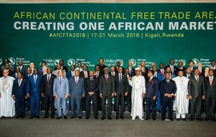 Mauritius Signs the Continental Free Trade Area