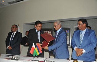 Mauritius and Madagascar expand cooperation with the setting up of a Joint Commission