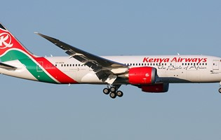 Launching of direct Kenya Airways flights between Nairobi and Mauritius
