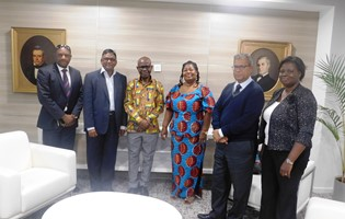 Courtesy visit of the High Commissioner of Ghana to MCCI