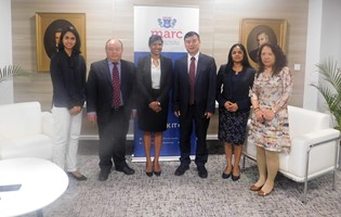 Visit of China-Africa Legal Research Institute Delegation