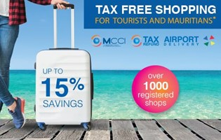 MCCI entrusted with the responsibility of the operation of a Revamped voucher scheme for tourists and promotion of Tax Free Shopping in Mauritius
