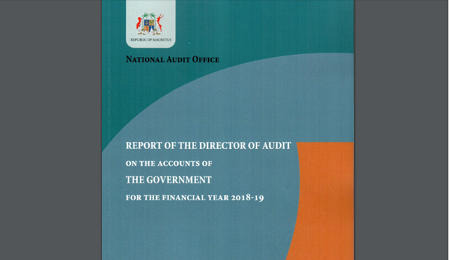Report of the audit of the Accounts of the Government of the Republic of Mauritius