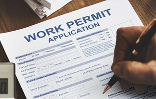 Work Access Permit - Still in process
