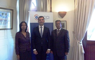 Visit to the MCCI of the  Ambassador of Georgia, His Excellency Mr. Beka Dvali